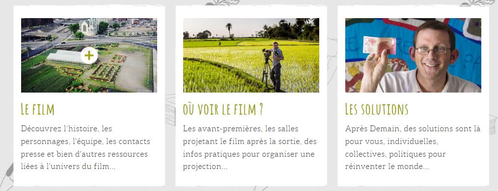 extrait du site officiel du film